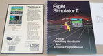 Flight Simulator II - 1986 subLOGIC Game for Commodore Amiga