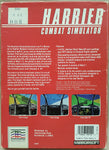 HARRIER Combat Simulator - 1986 Mindscape Game for Commodore Amiga