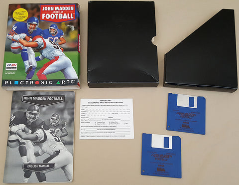 John Madden American Football - 1992 EA Electronic Arts Game for Commodore Amiga