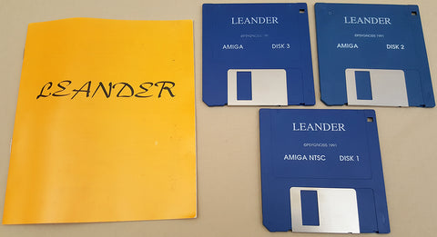 Leander - 1991 Psygnosis Game for Commodore Amiga