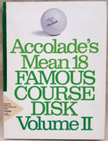 Accolade's Mean 18 Famous Course Game Disk Vol.II for Commodore Amiga