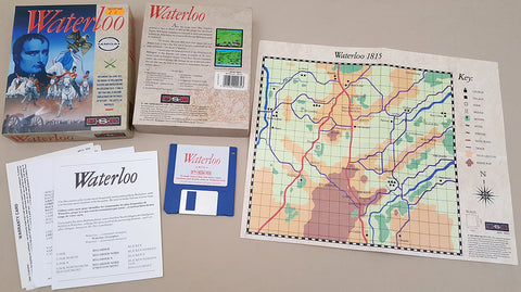 Waterloo - 1989 Mirrorsoft Game for Commodore Amiga