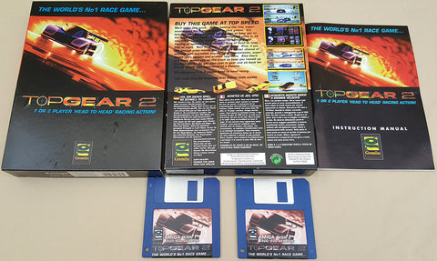 Top Gear 2 World's No1 Race Game - 1994 Gremlin for Commodore Amiga