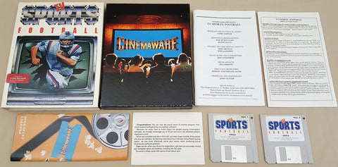 TV Sports Football - 1988 Cinemaware Game for Commodore Amiga