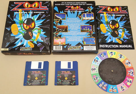 ZOOL - 1992 Gremlin Graphics Game for Commodore Amiga
