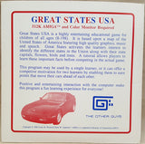 Great States USA - 1986 The Other Guys Game for Commodore Amiga