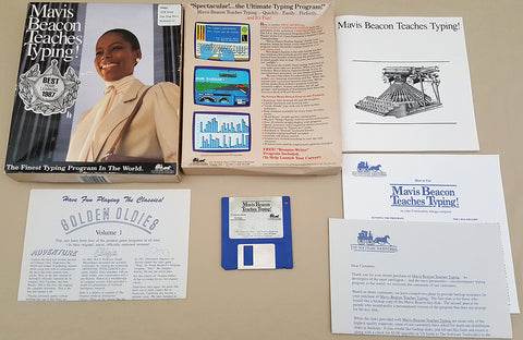 Mavis Beacon Teaches Typing - 1987 The Software ToolWorks Game for Commodore Amiga