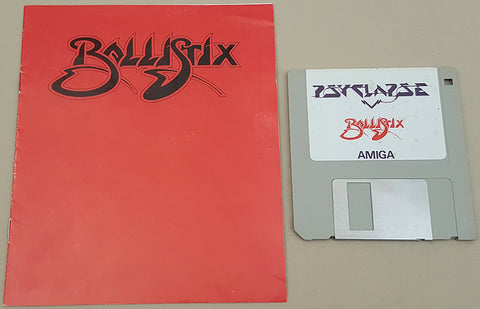 Ballistix - 1989 Psygnosis Game for Commodore Amiga