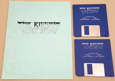 The Killing Game Show - 1990 Psygnosis Game for Commodore Amiga