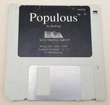 Populous - 1989 Bullfrog EA Electronic Arts Game for Commodore Amiga
