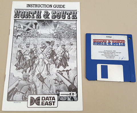 North & South - Infogrammes 1989 Data East Game for Commodore Amiga