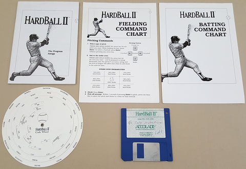 HardBall II - 1990 Accolade Game for Commodore Amiga