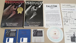 FALCON F-16 Fighter Simulation ©1988 Spectrum HoloByte Game for Commodore Amiga