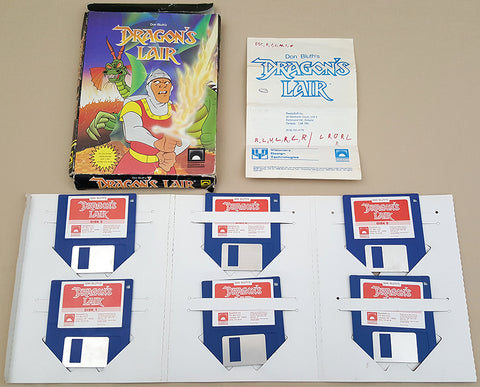Dragon's Lair Don Bluth's - 1987 ReadySoft Game for Commodore Amiga