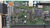 Commodore Amiga 4000 Desktop Motherboard rev.B - Battery/Capacitor Damage AS-IS!