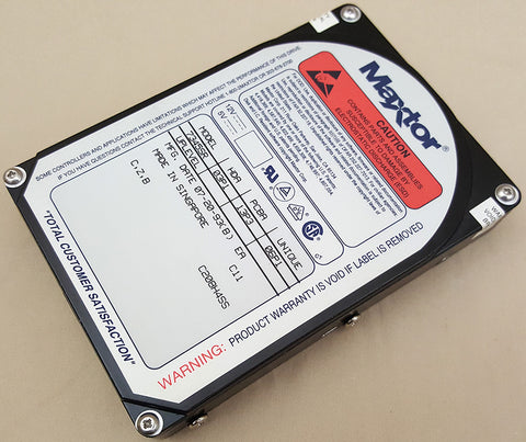 "320mb Maxtor 7345SR 50pin SCSI 3.5"" Internal Harddrive for Commodore AMIGA APPLE MAC PC"
