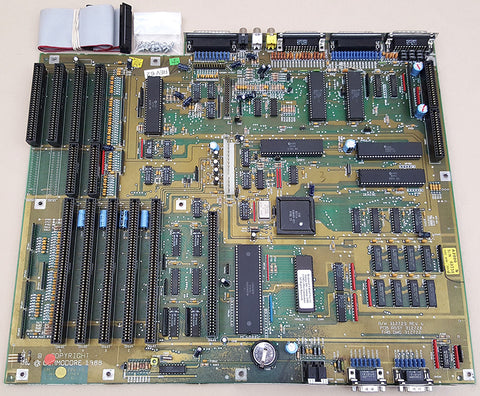 Commodore Amiga 2000 2000HD 2500 Motherboard rev6.2 with ECS Denise