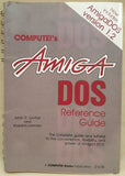 COMPUTE!'s AmigaDOS Reference Guide 1987 Book for Commodore Amiga