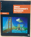 Amiga Programmer's HANDBOOK Vol.1 by Eugene P. Mortimore 1987 Book for Commodore Amiga