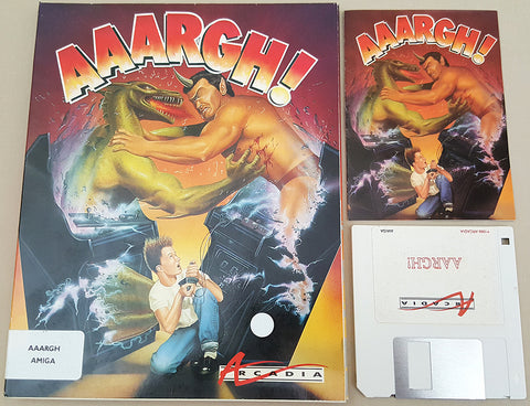 AAARGH! 1988 Arcadia Game for Commodore Amiga