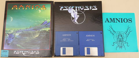 AMNIOS - 1991 Psygnosis Game for Commodore Amiga
