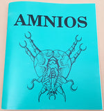 AMNIOS - 1991 Psygnosis Game Manual ONLY for Commodore Amiga