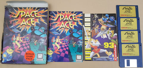 Space Ace Don Bluth - 1990 ReadySoft Game for Commodore Amiga