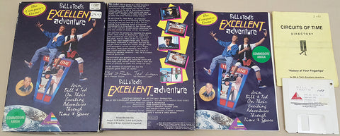 Bill & Ted's Excellent Adventure - 1991 Capstone Game for Commodore Amiga