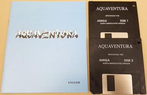 Aquaventura - 1992 Psygnosis Game for Commodore Amiga