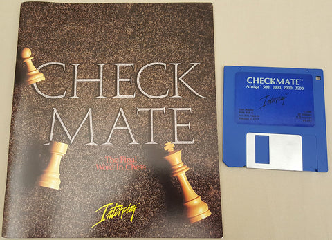 CheckMate - 1990 Interplay Chess Game for Commodore Amiga