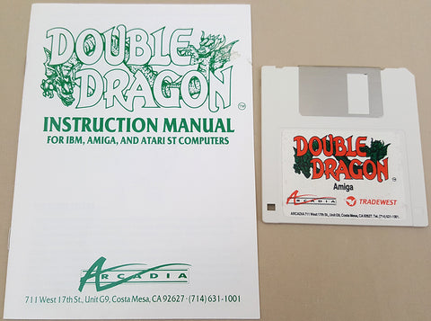 Double Dragon - 1988 Arcadia Mastertronic Game for Commodore Amiga