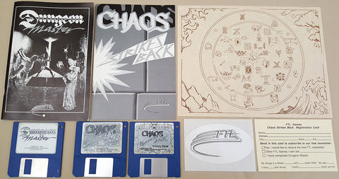 Dungeon Master & Chaos Strikes Back - 1986 1989 Games for Commodore Amiga
