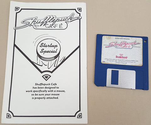 Shufflepuck Cafe - 1989 Broderbund Software Game for Commodore Amiga