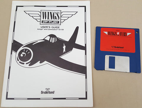 Wings Of Fury - 1990 Broderbund Software Game for Commodore Amiga