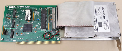 IVS Trumpcard Professional SCSI Controller w/160mb Harddrive for Commodore Amiga