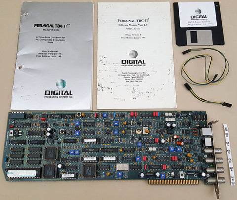 TBC-II Time Base Corrector by DPS for Commodore Amiga 2000 3000(T) 4000(T) Video Toaster