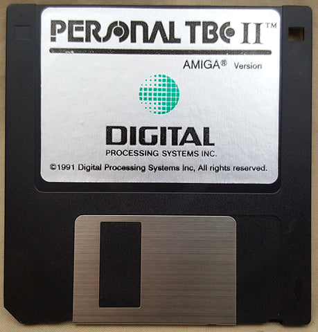 TBC-II Time Base Corrector Install Disk by DPS for Commodore Amiga