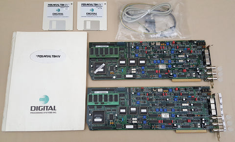 (2) TBC-IV Time Base Correctors by DPS for Commodore Amiga 2000 3000(T) 4000(T)