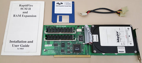 DKB RapidFire SCSI-2 Controller with 120mb HD 8mb RAM for Commodore Amiga