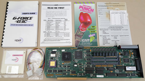 GVP GForce 68030@40mhz Accelerator for Amiga 2000 2000HD 2500 Video Toaster