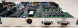 Commodore Amiga 2000 2000HD 2500 Motherboard rev6.2 with ECS Denise (4) 16 bit ISA Bridgeboard Slots