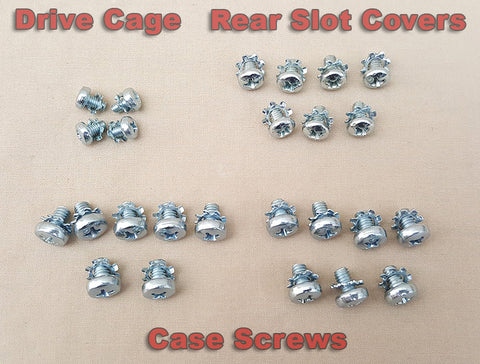 Complete Set of Case Screws for Commodore Amiga 2000 2000HD 2500