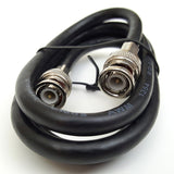3' ft BNC Male - BNC Male Cable for Commodore Amiga NewTek Video Toaster Flyer TBC V-Scope PAR RG6