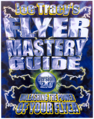 Joe Tracy's FLYER MASTERY GUIDE v2.0 1998 for Commodore Amiga Video Toaster Flyer