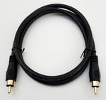 3' ft RCA Male to RCA Male Composite Cable for Commodore Amiga NewTek Video Toaster Flyer TBC V-Scope