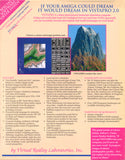 VistaPro v2.01 - 1992 Virtual Reality Laboratories for Commodore Amiga
