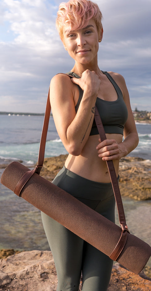 YOGA MAT HARNESS