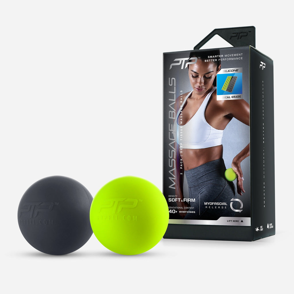 Firm & Soft Massage Ball for Deep Tissue Massage