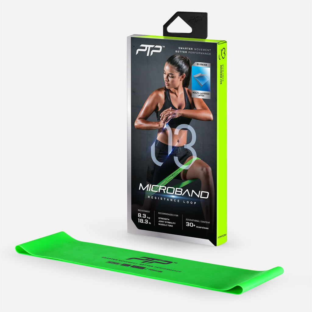 MicroBand Medium (Green) by PTP