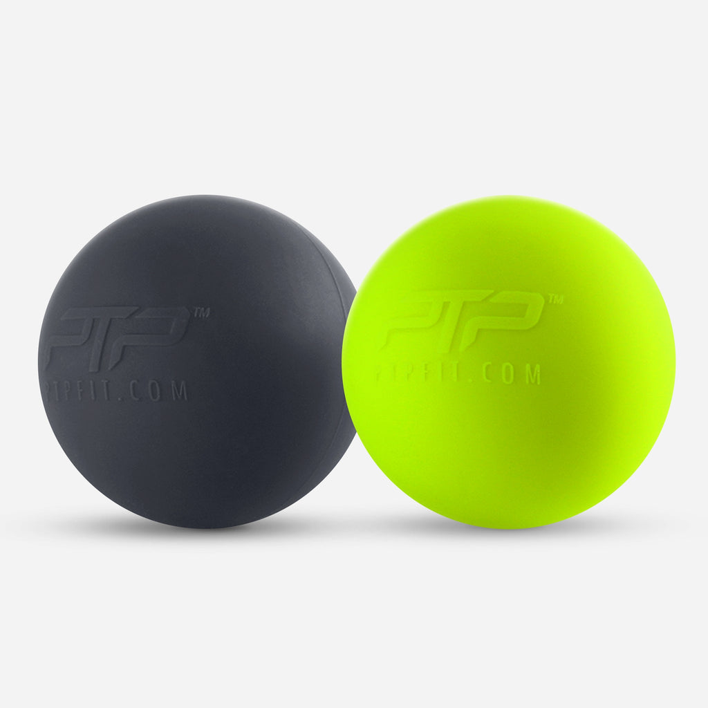 Massage Ball Set by PTP - For Quick & Easy Muscle Release on-the-go